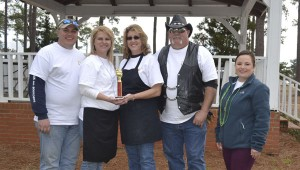 A team from the L.A. Bikers took second place.
