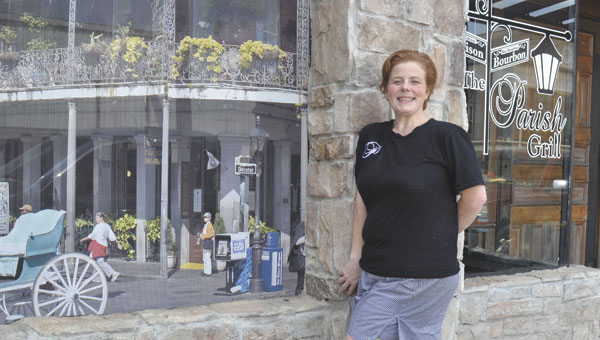 Patricia Keefer opened The Parish Grill in the old Gerlach's location earlier this month.
