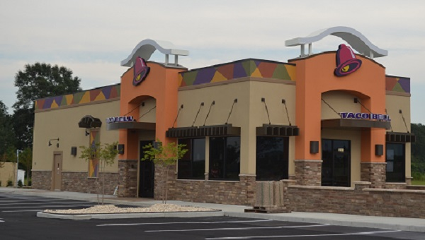 Atmore's new Taco Bell opened for business early Wednesday morning. The restaurant is located off State Highway 21 North in the Rivercane development, across from Hardee's.