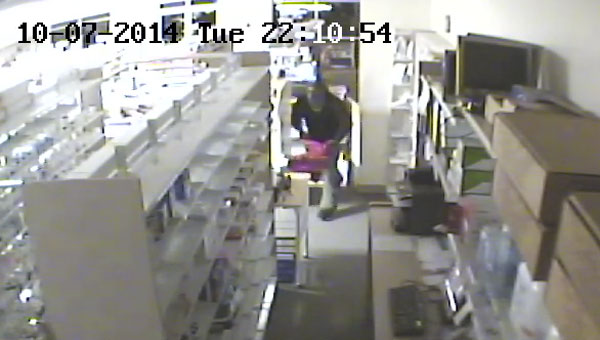 Police are looking for information about the arrest of two suspects who stole prescription drugs from Buy-Rite Drugs on Tuesday night. This security footage, courtesy of the Atmore Police Department, shows one of the suspects. The second suspect is shown below.