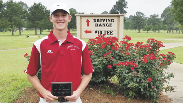 Scott Brantley, an Escambia Academy senior, placed fourth  at the AISA State Golf Championship in Troy. It was Brantley's seventh straight state finals appearance.