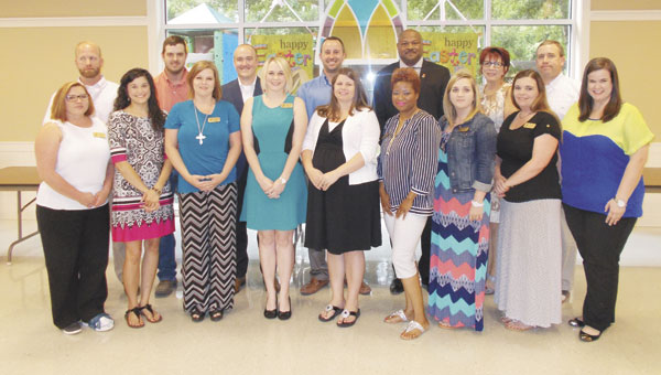 The 2015 class of Leadership Atmore graduated from the program on Thursday evening.