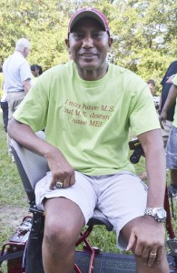 Don McNeal was in attendance Saturday, and thanked the community for its support.