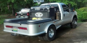 This truck was reported stolen Sunday by the Atmore Police Department.