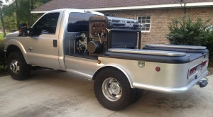 This truck was reported stolen Sunday in the Atmore area.