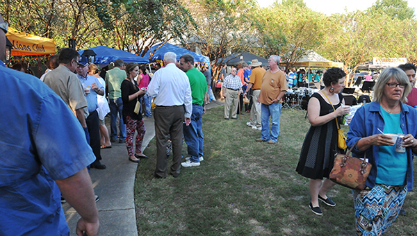 Between 1,200-1,500 people attended the annual Taste of the South event tonight.   Andrew Garner/Atmore Advance