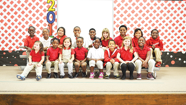 Rachel Patterson Star students for the month of November pictured in the front row from L to R: Immogene Godwin, Alicia Hale, Jade Harrelson, Lekhera Barron, DeRihanna Riley, Anthony Haynes, Trinity Thompson and Zipporah Biggs. Back row from L to R: Corderian Dirden, Tyderion Hall, Belinda Ortiz, Landon Harris, Jeremiah Brown, Rebecca Spicer, Lazavion McKenzie, Imari Lemon and Rodney Brown. Not pictured: India Lyons, Amiyah James, London Forney and Ronta Watson and Jon Murray.   Allison Brown/Atmore Advance