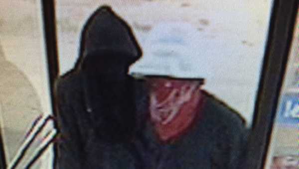 The Atmore Police Department needs your help in finding these two suspects who are accused of robbing the Diamond Oil Station on Monday night. | Submitted photo