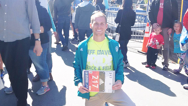 Atmore native Alan Ash poses for a picture in the lead up to the 2016 Boston Marathon. | Submitted photo
