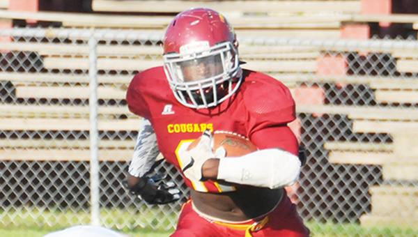 Escambia Academy senior running back Kris Brown committed to the University of South Alabama recently. | Andrew Garner/Atmore Advance
