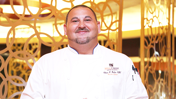 Wind Creek Room Chef Chris Rolin will compete in the World Food Championships next month in Orange Beach. Rolin won the right to the tournament with a ribeye burger. | Submitted photo